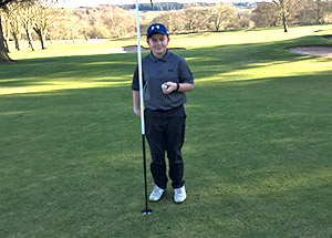 Hole In One For Callum Bruce