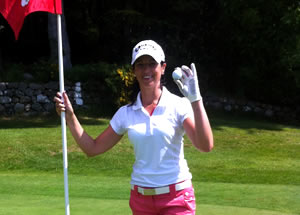 Hole in One for Fiona Duncan