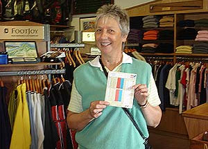 Hole in One for Joan Mair