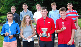 Deeside Junior Open Champion and Prize winners